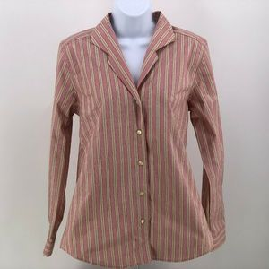 Orvis Wrinkle Free Womens Button Up Shirt Size 8